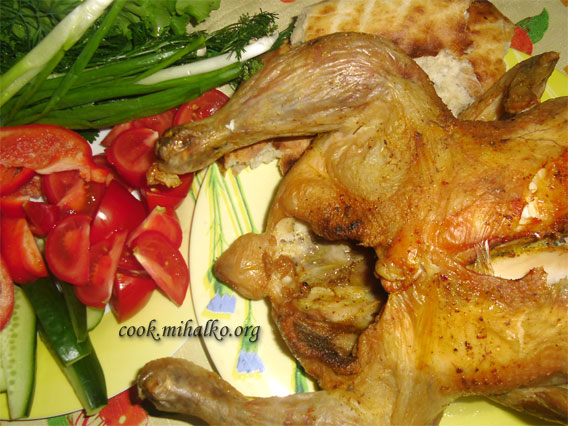 Курица в аэрогриле