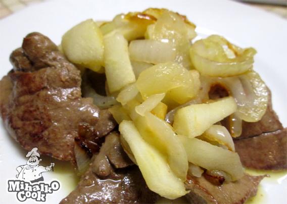 Блюдо из печени фото рецепт