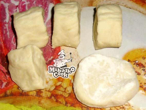 Рецепт тесто для чебуреков с мясом рецепт