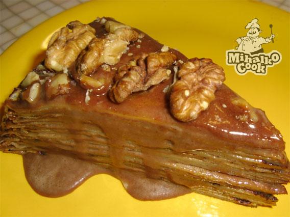 рецепт блинова торт с овашами